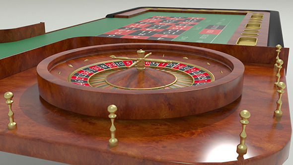 3DOcean Casino Roulette Table 9221830