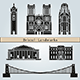 Bristol Landmarks and Monuments - GraphicRiver Item for Sale
