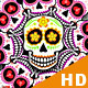 Cartoon Skulls Backgrounds - 6 Clips - VideoHive Item for Sale