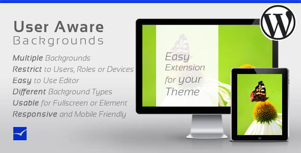 CodeCanyon User Aware Backgrounds for WordPress 9186191