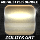 30 Premium Metal Styles Bundle - GraphicRiver Item for Sale