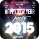 Happy New Year Flyer Template - GraphicRiver Item for Sale