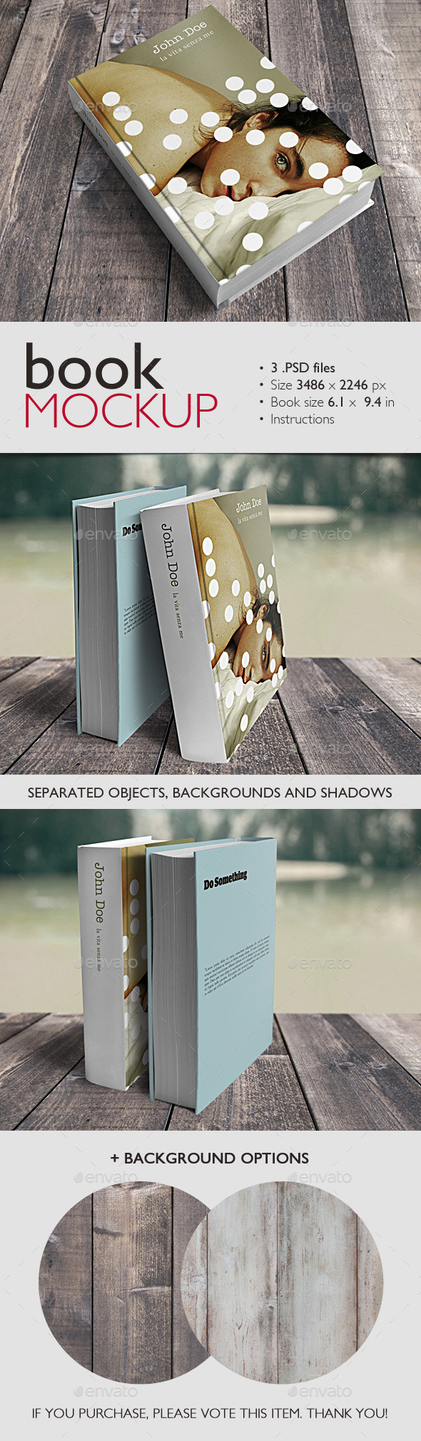 GraphicRiver Book Mockup 9222548