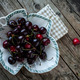 Fresh Black Cherries - PhotoDune Item for Sale