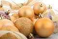 Golden christmas balls - PhotoDune Item for Sale
