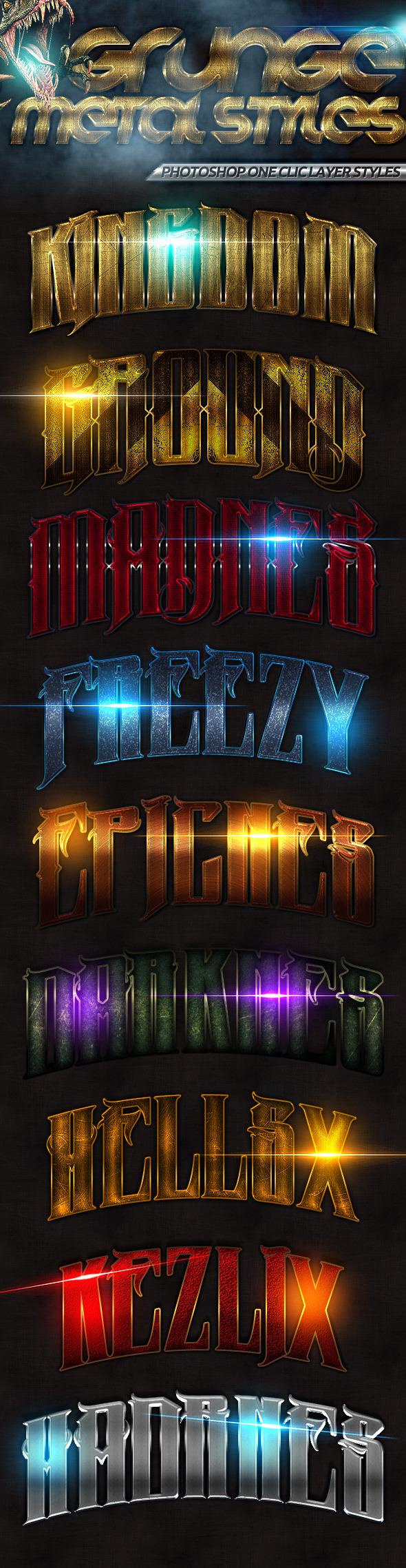 GraphicRiver Grunge Styles 9222717