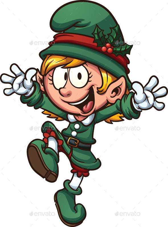 GraphicRiver Christmas Elf 9222803