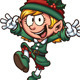Christmas Elf - GraphicRiver Item for Sale
