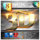 8 Modern 3D Exclusive Edition Vol.4 - GraphicRiver Item for Sale