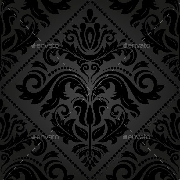 GraphicRiver Damask Seamless Vector Pattern 9223708