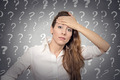 Stressed Woman has Many Questions - PhotoDune Item for Sale