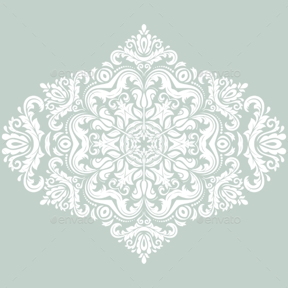 GraphicRiver Floral Vector Pattern Orient Abstract Background 9223762