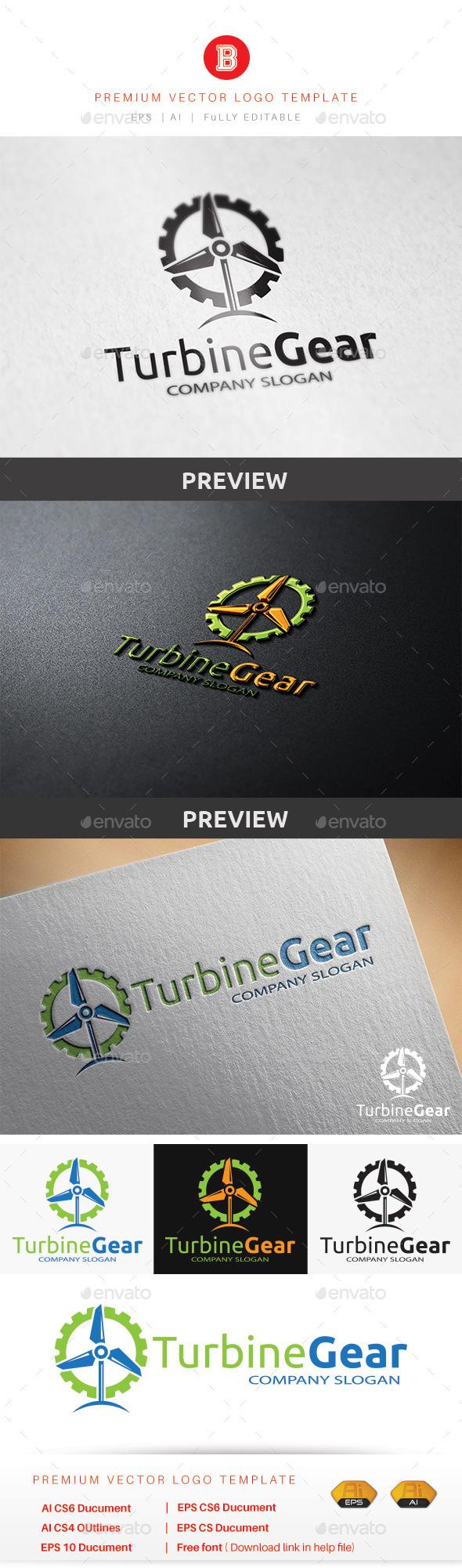 GraphicRiver Turbine Gear 9223879