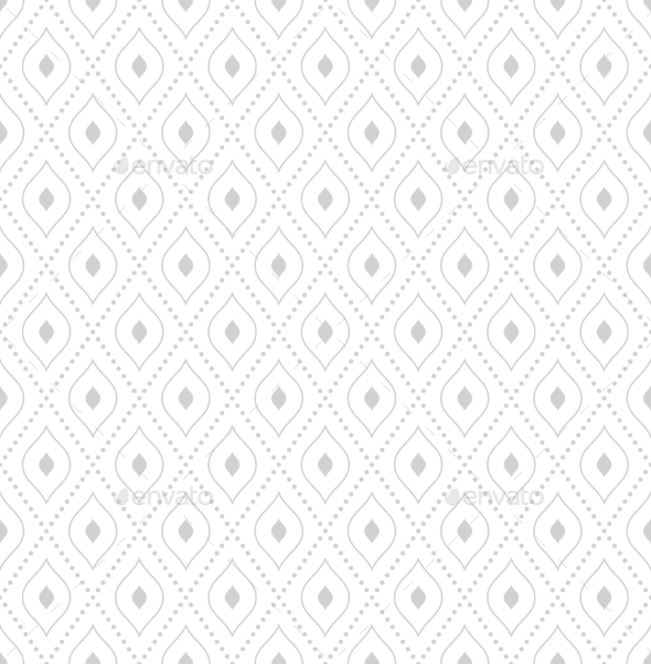 Geometric Modern Vector Seamless Pattern