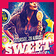 Sweet Candy Party Flyer - GraphicRiver Item for Sale
