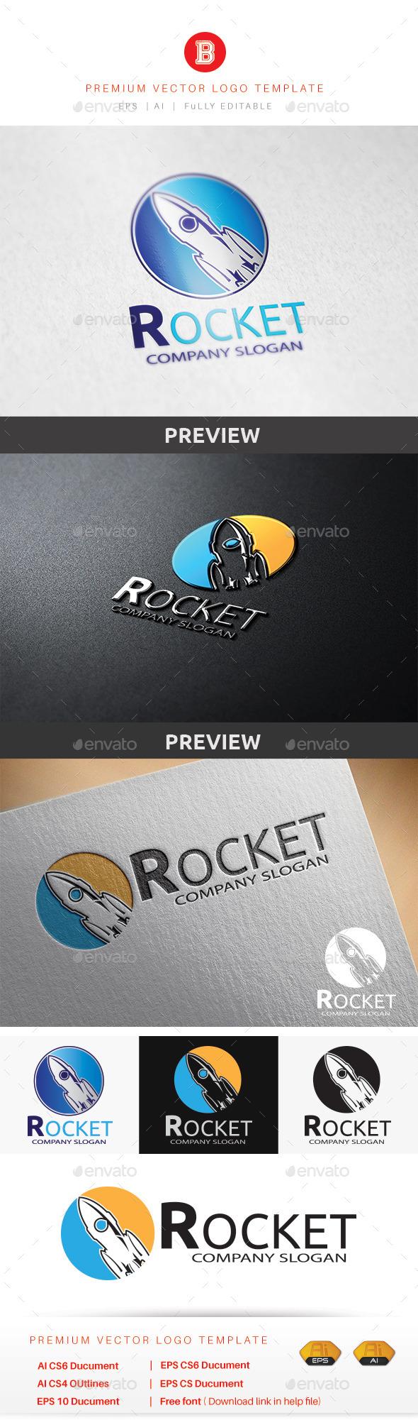 GraphicRiver Rocket 9224087