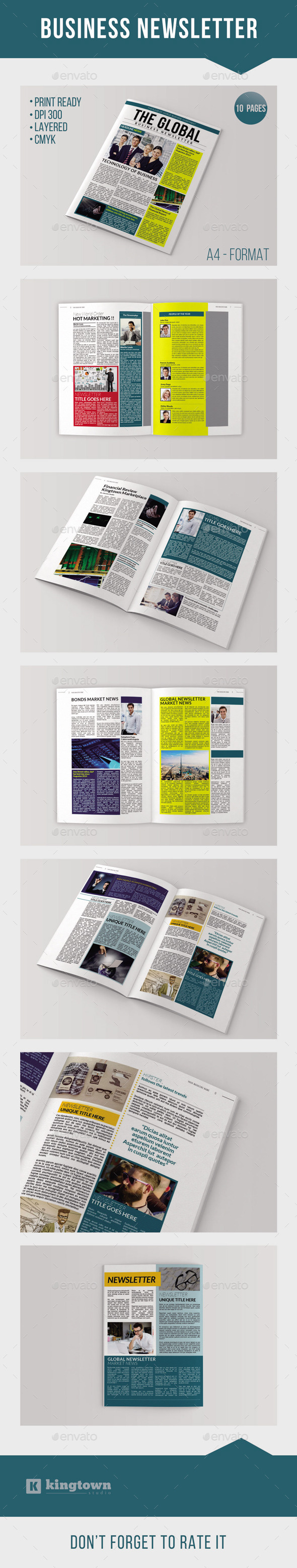 GraphicRiver Business Newsletter Vol 2 9195492