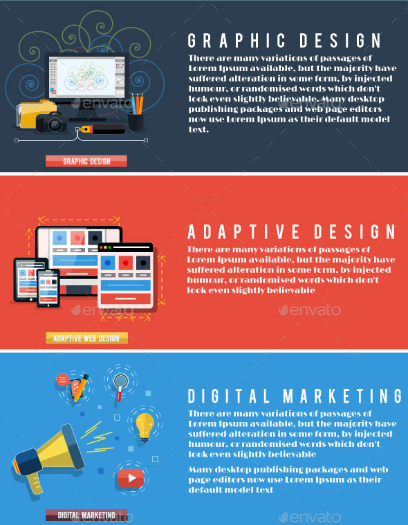GraphicRiver Digital Marketing Web Design and Graphic 8973836