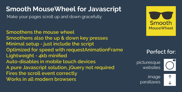 CodeCanyon Smooth MouseWheel for Javascript 9194132