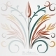 Vector Elegant Background with Lace Ornament . - GraphicRiver Item for Sale