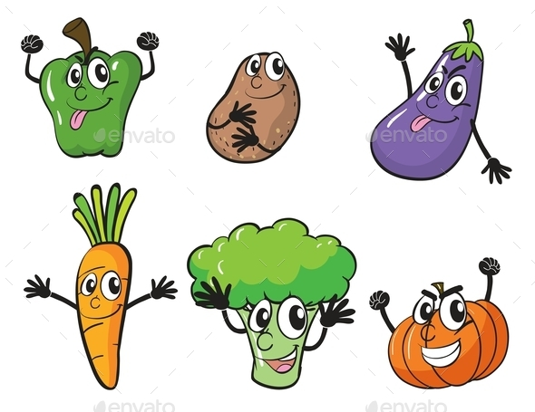 GraphicRiver Various Vegetables 9225057