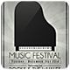 Music Festival - Flyer [Vol.4] - GraphicRiver Item for Sale