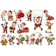 Santa Actions - GraphicRiver Item for Sale