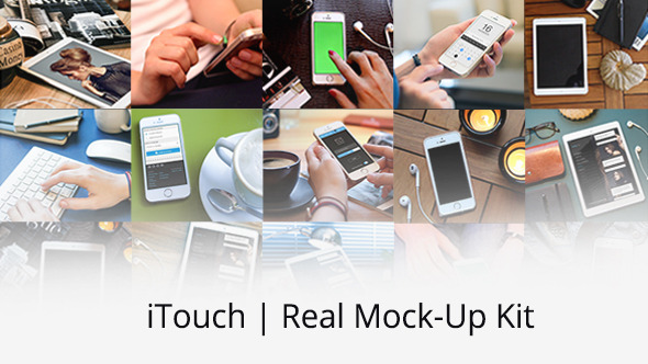 iTouch | Real Mock-Up Kit 9225361 - Videohive shareDAE