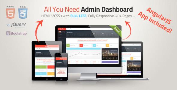 PixPro + AngularJS - All You Need Admin Dashboard - Admin Templates Site Templates