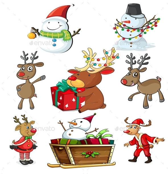 GraphicRiver A Set of Christmas Designs 9225446