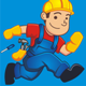 Fast Handyman Mascot - GraphicRiver Item for Sale