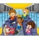 Kids in the Bus - GraphicRiver Item for Sale