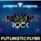 Alternative Rock Futuristic Flyer - GraphicRiver Item for Sale