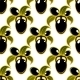 Black olives seamless background pattern - GraphicRiver Item for Sale