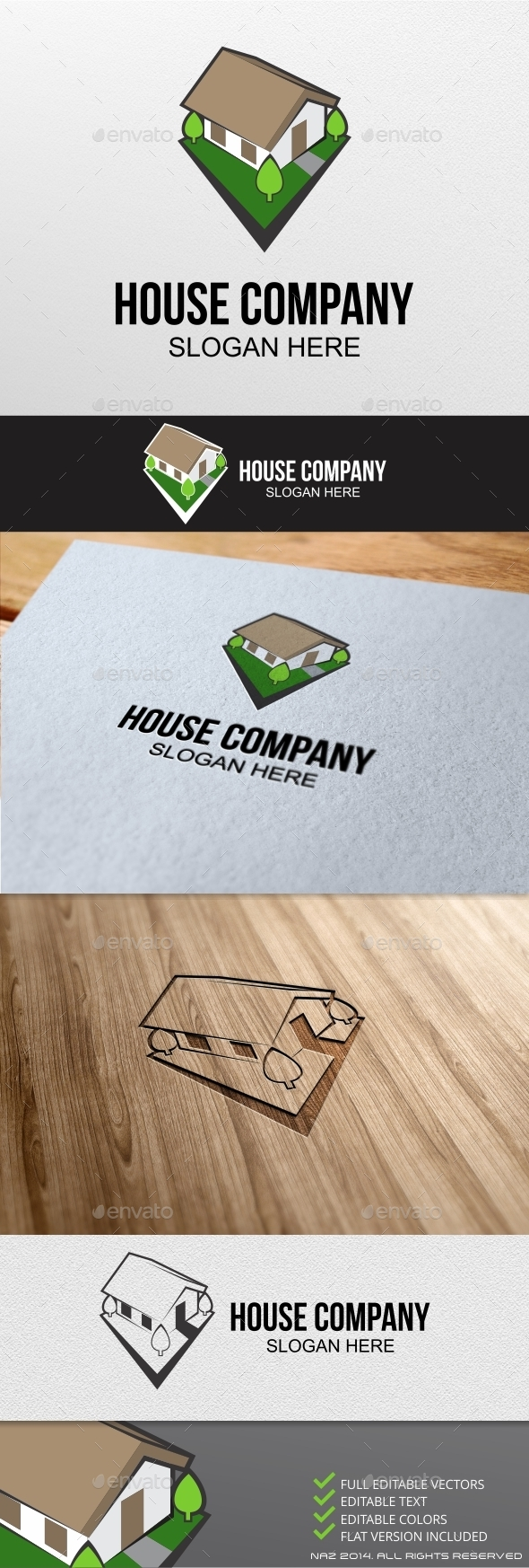 GraphicRiver House Game Logo 9225749