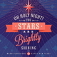 Holidays Type Design with Christmas Star - GraphicRiver Item for Sale