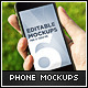 10 Photorealistic Phone Mock-Ups - GraphicRiver Item for Sale