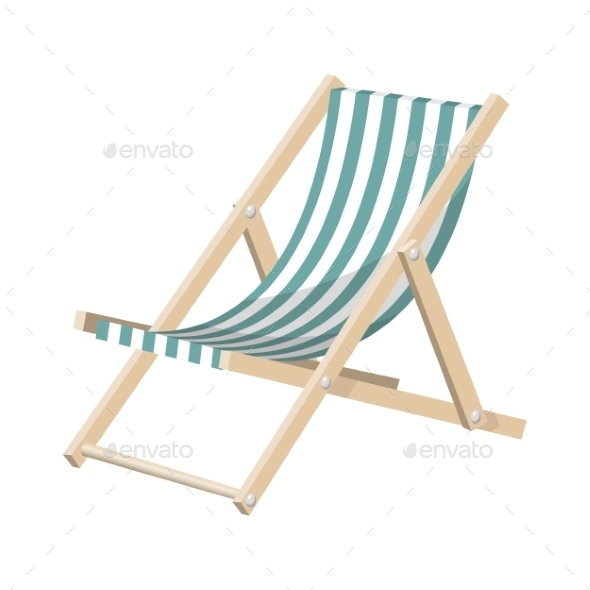 GraphicRiver Striped Sunchair 9226165