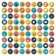 Modern Flat Icons Vector - GraphicRiver Item for Sale