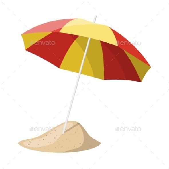 GraphicRiver Beach Umbrella 9226207