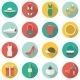 Shopping Flat Icons. - GraphicRiver Item for Sale