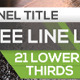 21 Cool Lower Thirds - VideoHive Item for Sale