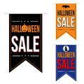 Halloween sale banner design set - PhotoDune Item for Sale