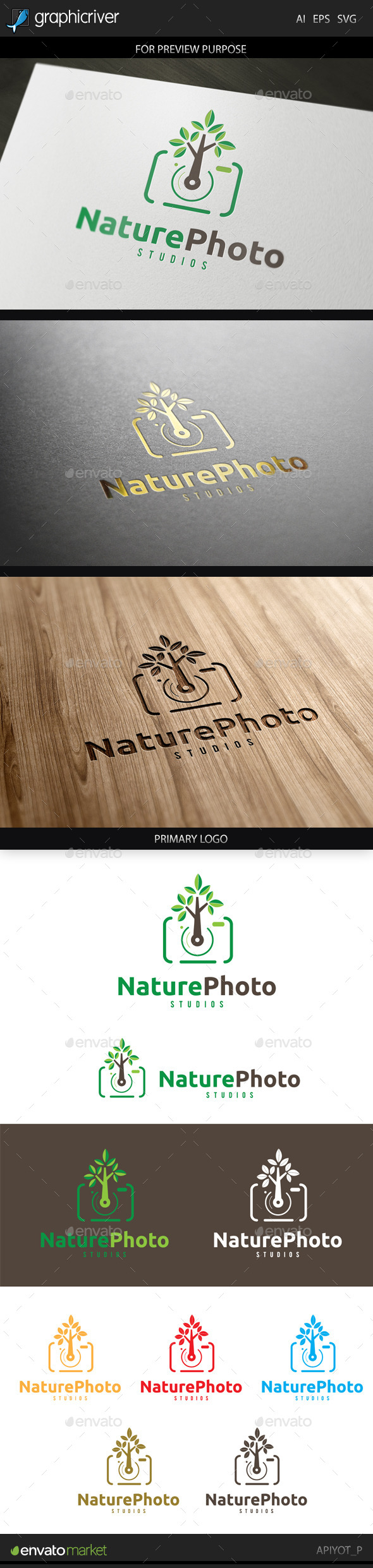 GraphicRiver Nature Photo Logo 9226491