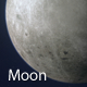 Grey Moon 360 Degrees Rotating - VideoHive Item for Sale