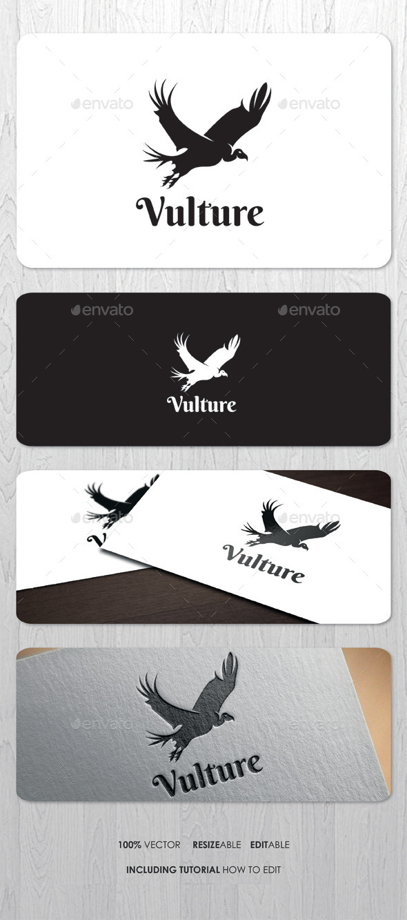 GraphicRiver Vulture Logo 9226836