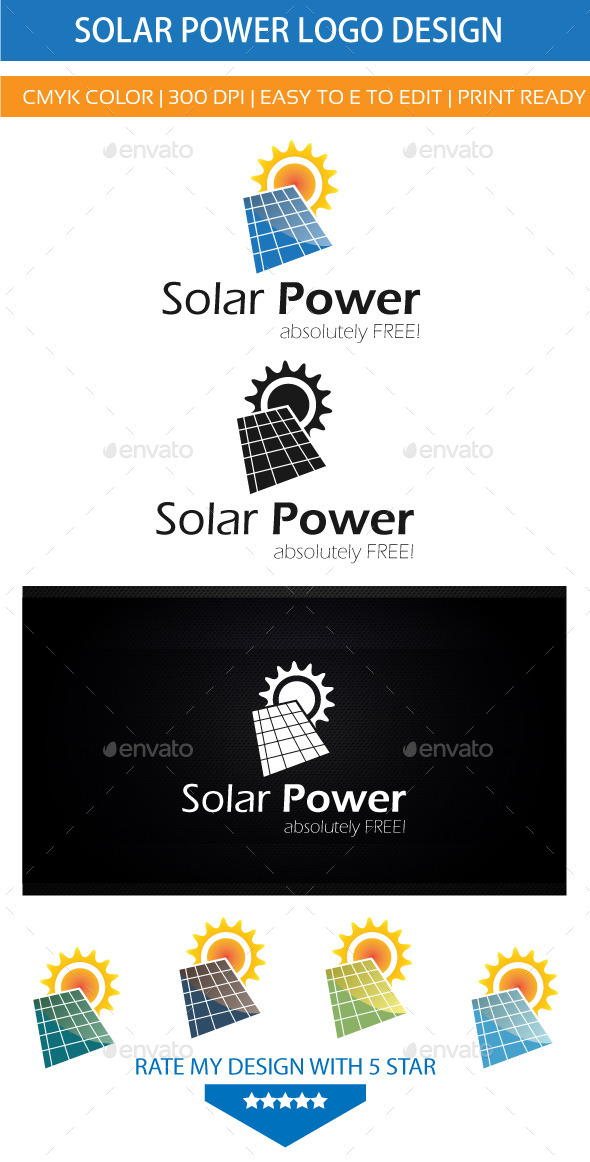 GraphicRiver Solar Energy Power 9226878