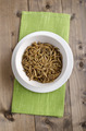 meal worms in a white bowl - PhotoDune Item for Sale