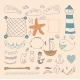 Sea Objects Collection.  - GraphicRiver Item for Sale