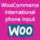 WooCommerce international phone input - CodeCanyon Item for Sale